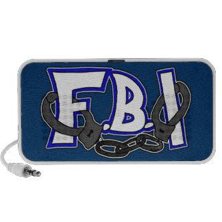 Esposas del FBI Portátil Altavoz