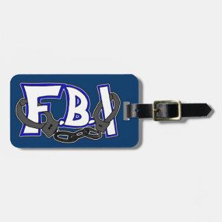 Esposas del FBI Etiqueta Para Maleta