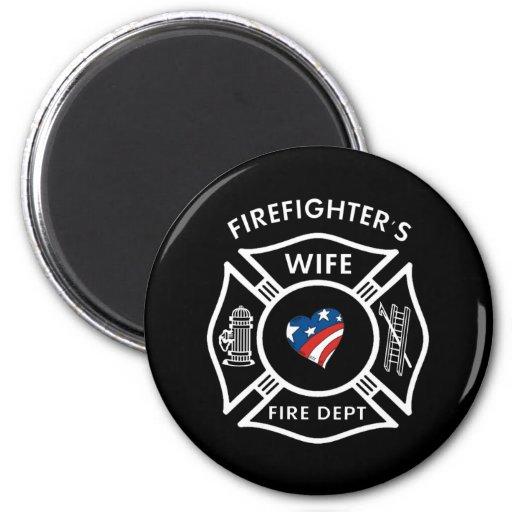 Esposas los E.E.U.U. del bombero Imán
