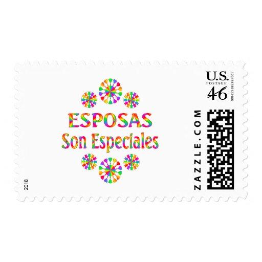 Esposas Son Especiales Stamp