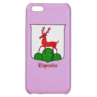 Esposito Italian Surname Historical Shield iPhone 5C Cover
