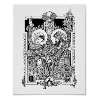 """Espousal of the Blessed Virgin 8"""" x 10"""" Print"""