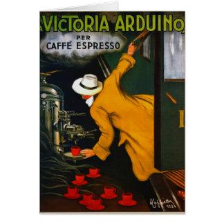 Espresso Ad 1922 Card
