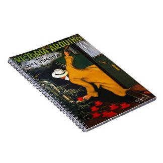 Espresso Ad 1922 Notebook