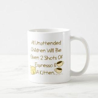 Espresso And A Kitten Coffee Mug