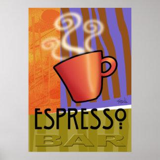 Espresso Bar Poster