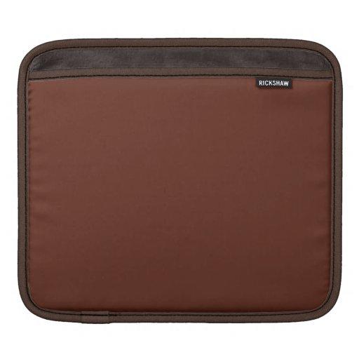 Espresso Brown iPad Sleeve Macbook Air Sleeve