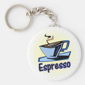 espresso burst keychain