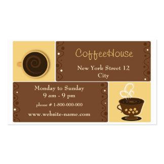 Espresso Cafe Business Card