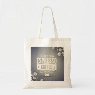 Espresso Coffee Grocery Bag