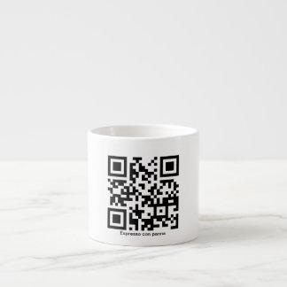 Espresso con panna QR-Code Cup