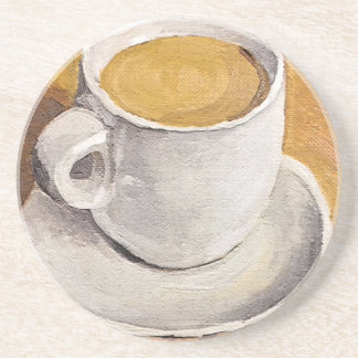 Espresso Cup and Saucer Drink Coaster