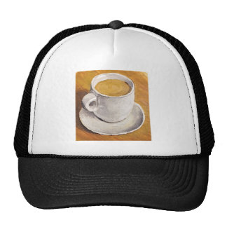 Espresso Cup and Saucer Trucker Hat