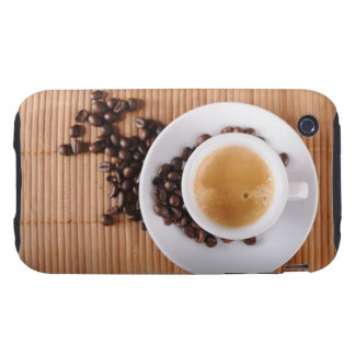 Espresso cup on a mat tough iPhone 3 cover