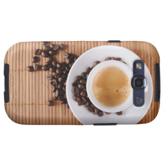 Espresso cup on a mat galaxy s3 cover