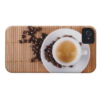 Espresso cup on a mat Case-Mate iPhone 4 case