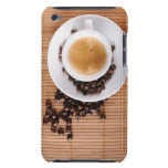 Espresso cup on a mat Case-Mate iPod touch case