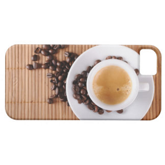 Espresso cup on a mat iPhone SE/5/5s case