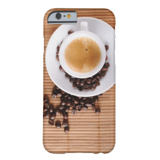 Espresso cup on a mat iPhone 6 case