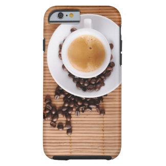 Espresso cup on a mat tough iPhone 6 case