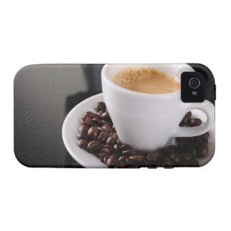 Espresso cup on black granite counter vibe iPhone 4 cases