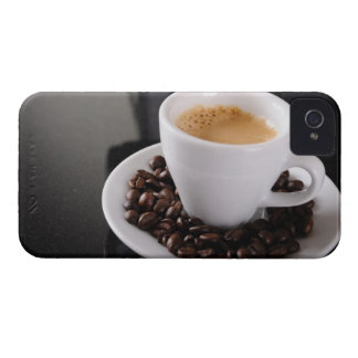 Espresso cup on black granite counter iPhone 4 Case-Mate case