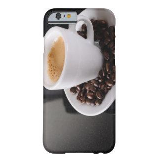 Espresso cup on black granite counter iPhone 6 case