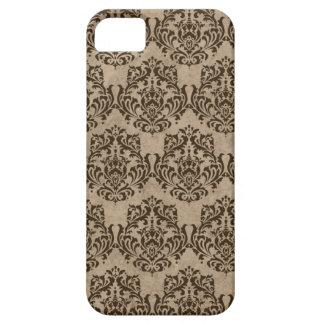 Espresso Damask iPhone SE/5/5s Case