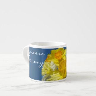 espresso getaway Mugs nature Daffodils custom