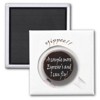 Espresso Jitters Magnet