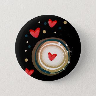 espresso love mod cute button