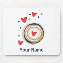 espresso love mod cute mouse pad