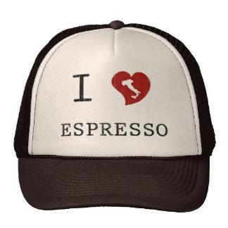 Espresso lovers I Love Espresso Trucker Hat
