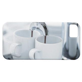Espresso machine making coffee iPhone SE/5/5s case