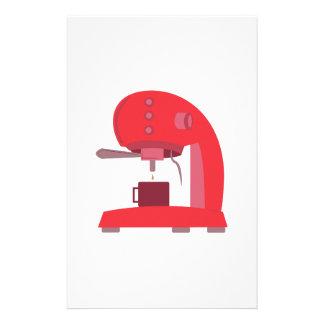 Espresso Machine Stationery