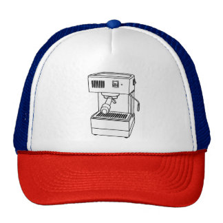 Espresso Machine Trucker Hat