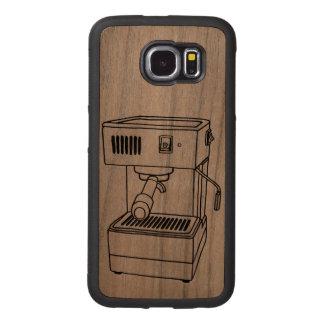 Espresso Machine Wood Phone Case