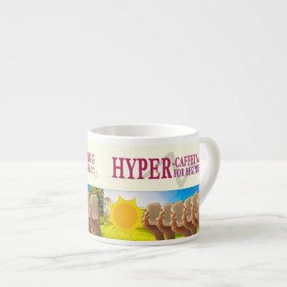 "Espresso Mug - ""HyperCaffeinating for Beginners"""