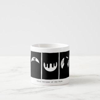 Espresso Mug:  Total Eclipse of the Farm. Espresso Cup