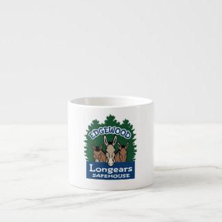 Espresso Mug w/ELS Logo in green/blue 6 Oz Ceramic Espresso Cup