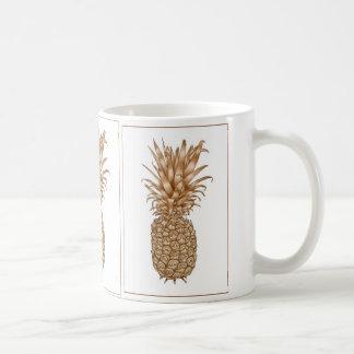 Espresso Pineapple Coffee Mugs
