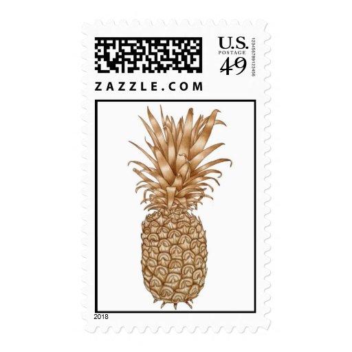 Espresso Pineapple Stamps