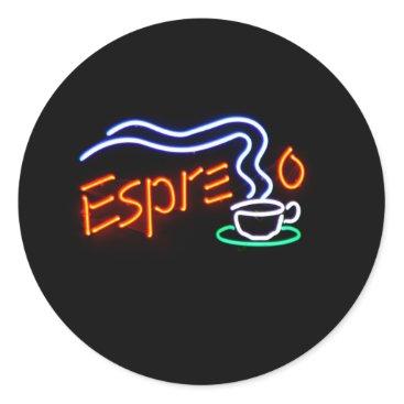 Coffee Themed Espresso Stickers
