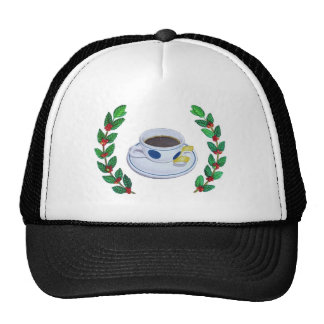Espresso Wreath Trucker Hat