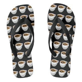 Espresso Yourself Flip Flops