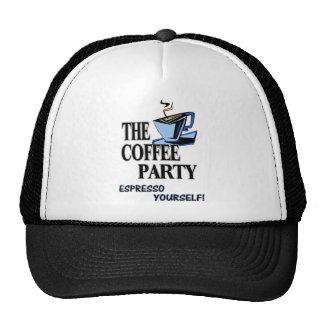 Espresso Yourself!!! Hats