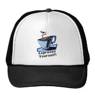 espresso-yourself hats