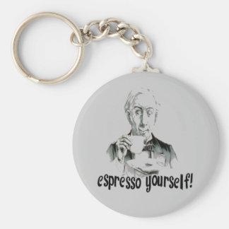 Espresso Yourself Keychain