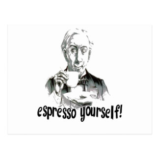 Espresso Yourself Postcards