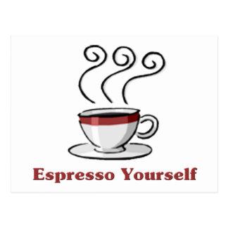 Espresso Yourself Postcard